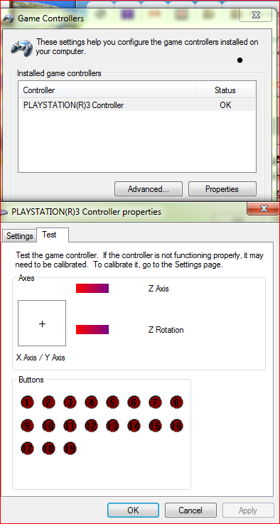 "Problem: XInput Test says ""Not Connected"", but Windows sees the"